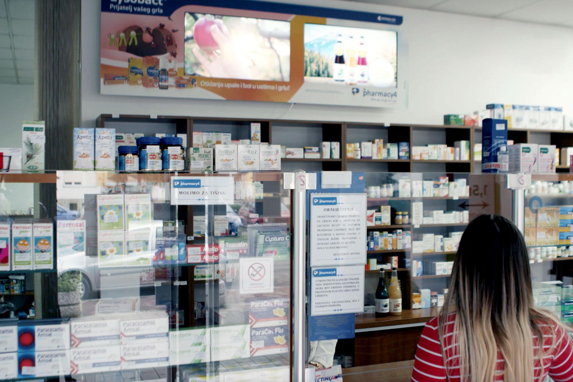Apoteke Pharmacy4You & Igman Food Factory.